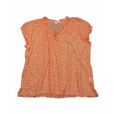 Narancs virágos felső (48)
