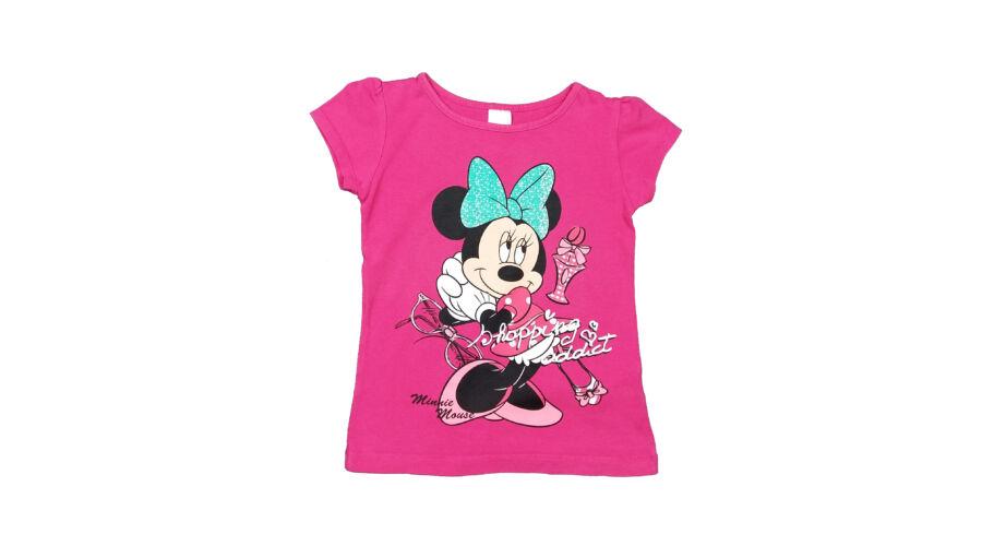 539175bf6f Pink Minnie póló (110) - 104-110 (3-5 év) - Minőségi angol használt ...