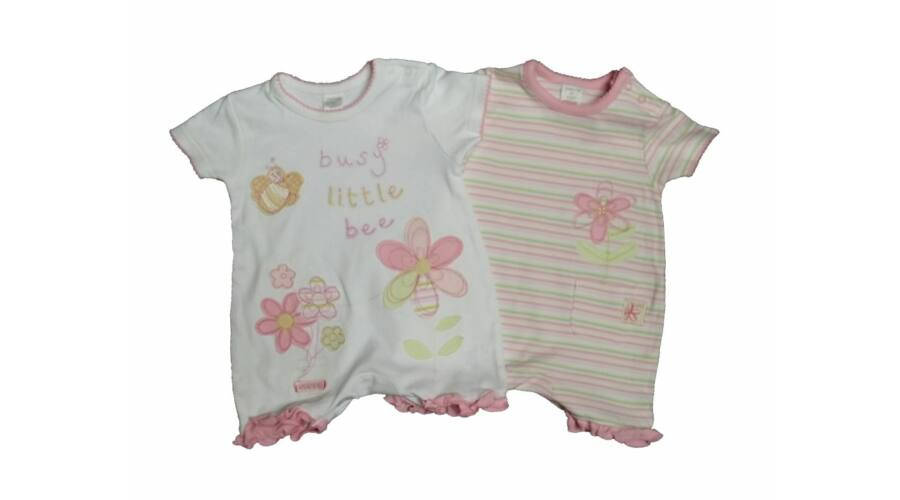 Pillangós-virágos napozó szett (56) - 56-62 (0-3 hónap) - Minőségi angol  használt és új gyerekruhák a136959c20