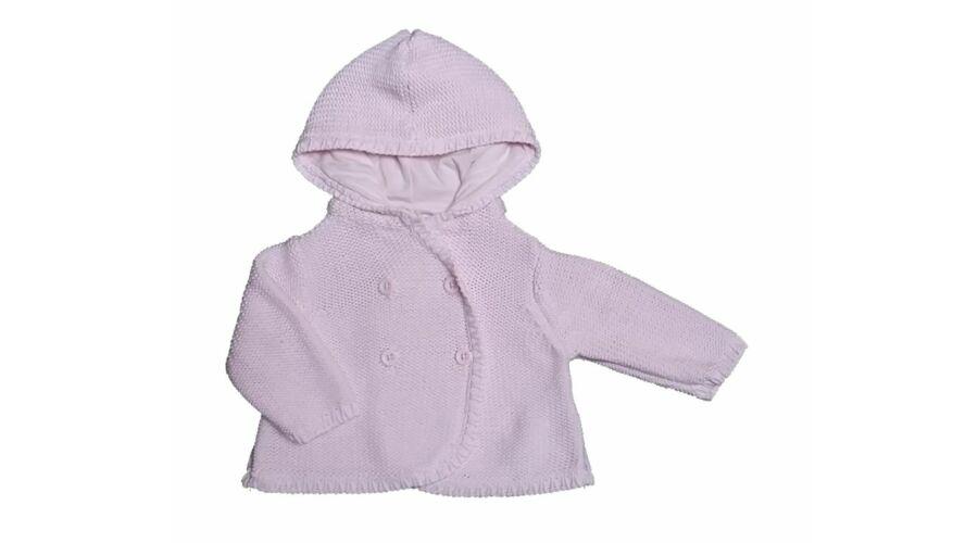 fcc84de0cde8 Rózsaszín kabátka (56) - 56-62 (0-3 hónap) - Minőségi angol használt és új  gyerekruhák