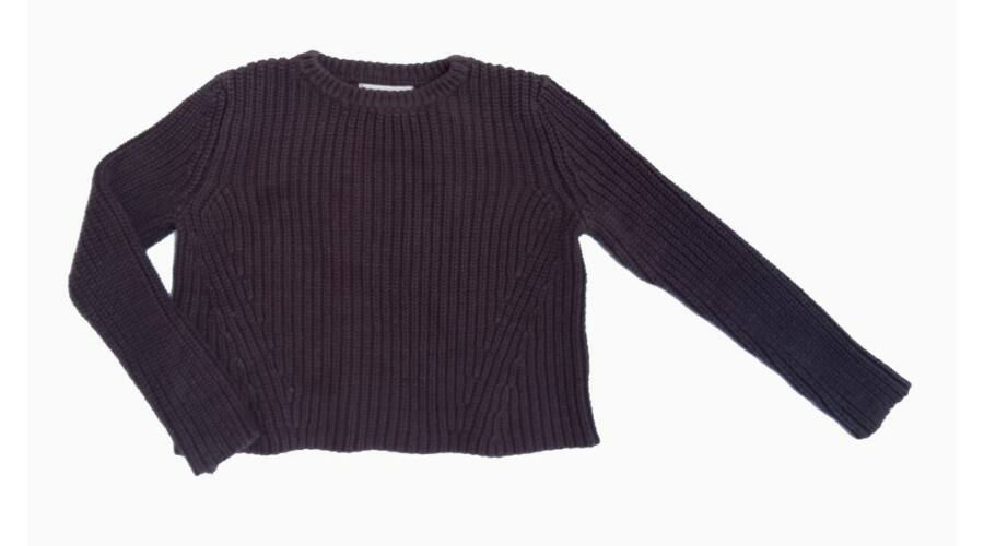 734c1cd5d114 Szürke rövid pulcsi (128) - 128-134 (7-9 év) - Minőségi angol használt és új  gyerekruhák
