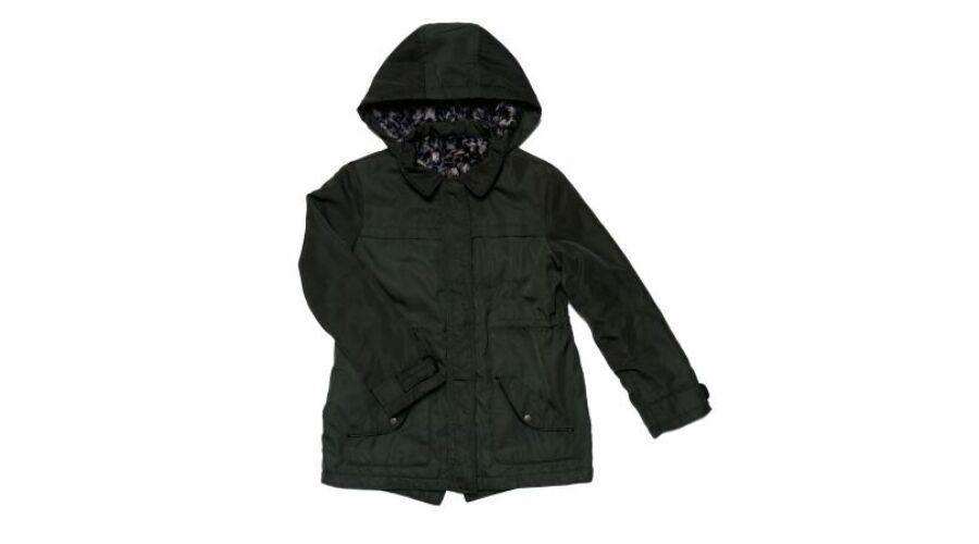 Katonazöld télikabát (146) - 140 és nagyobb (9 év és nagyobb) - Minőségi  angol használt és új gyerekruhák 53f8b9ff85