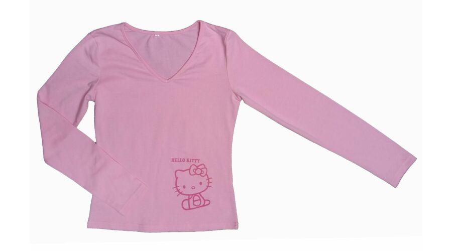 Rózsaszín Hello Kitty póló (134) - 128-134 (7-9 év) - Minőségi angol ... cb49b68db7