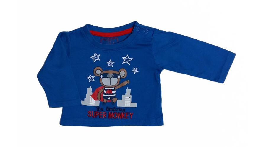 Super Monkey póló (62) - 56-62 (0-3 hónap) - Minőségi angol használt és új  gyerekruhák 68b5160b23