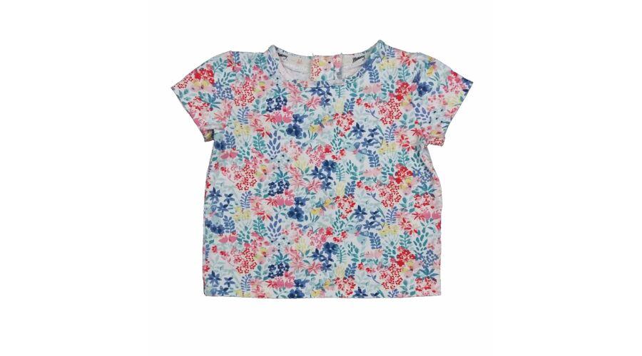 046135a5d5 Virágos póló (86) - 80-86 (9-18 hónap) - Minőségi angol használt és új  gyerekruhák