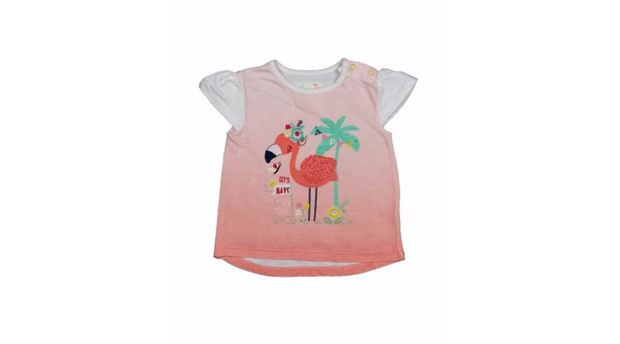 7828a437a7 Flamingós póló (74) - 68-74 (3-9 hónap) - Minőségi angol használt és ...