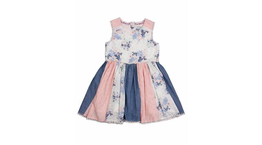 1cfe2110f5 Rózsaszín virágos ruha (104) - 104-110 (3-5 év) - Minőségi angol használt  és új gyerekruhák