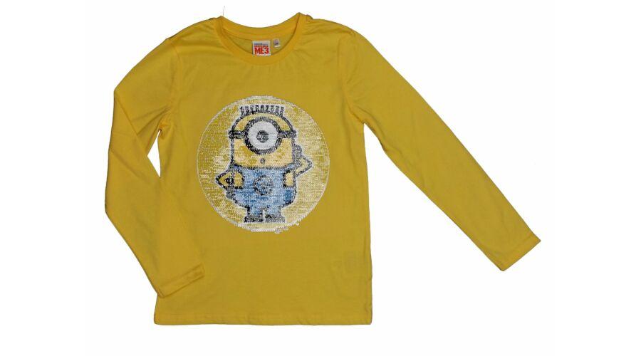 Sárga simizős Minion póló (128) - 128-134 (7-9 év) - Minőségi angol  használt és új gyerekruhák 427ebafa6a