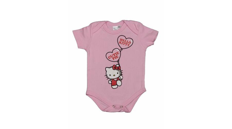Rózsaszín Hello Kitty body (74) - 68-74 (3-9 hónap) - Minőségi angol  használt és új gyerekruhák 7235bd69cc