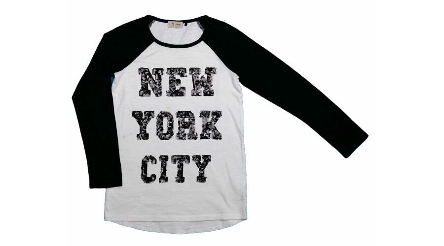 ca555b77c4 New York póló (134) - 128-134 (7-9 év) - Minőségi angol használt és ...