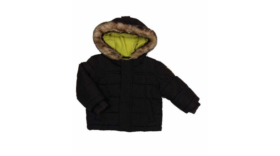 869d9b1e38 Barna-zöld télikabát (86) - 80-86 (9-18 hónap) - Minőségi angol használt és új  gyerekruhák