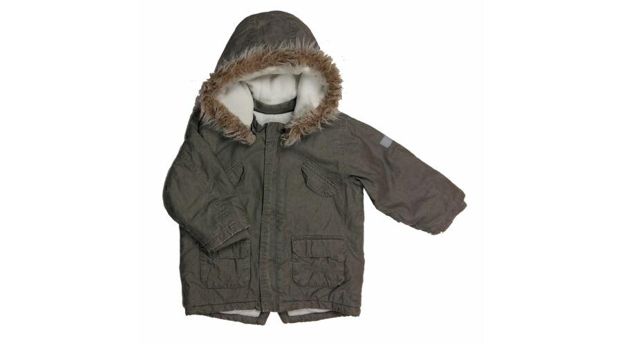3882505ebc Zöld zsebes télikabát (86) - 80-86 (9-18 hónap) - Minőségi angol használt  és új gyerekruhák
