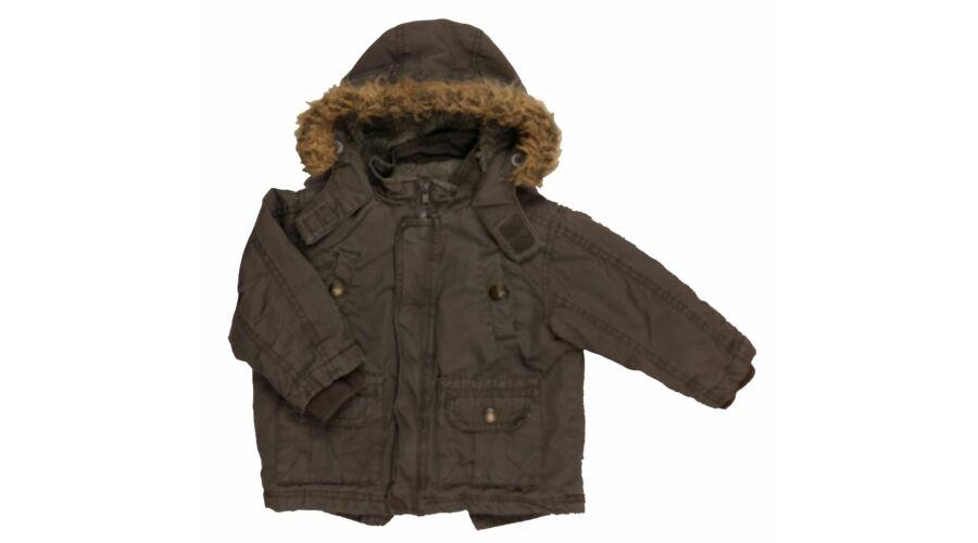 acb2933c87 Katonazöld télikabát (86) - 80-86 (9-18 hónap) - Minőségi angol használt és új  gyerekruhák