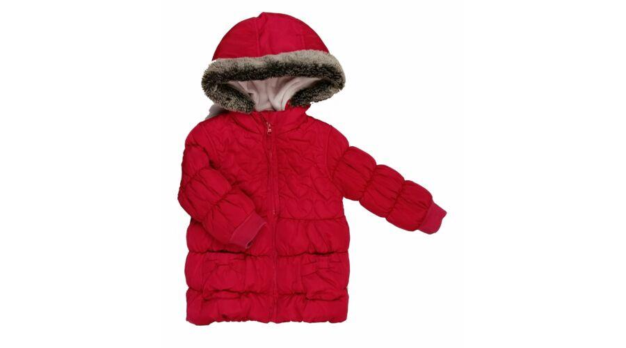 Meggypiros télikabát (80) - 80-86 (9-18 hónap) - Minőségi angol használt és új  gyerekruhák 0aa31ff758