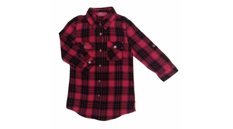 eaf42dae5d Pink kockás blúz (98) - 92-98 (1,5-3 év) - Minőségi angol használt és új  gyerekruhák