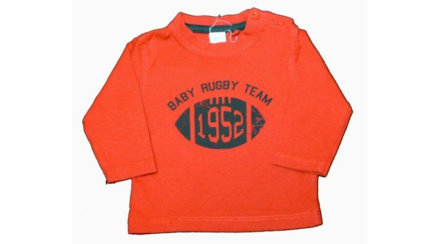 Piros rögbis felső - 56-62 (0-3 hónap) - Minőségi angol használt és új  gyerekruhák 995a82c16b