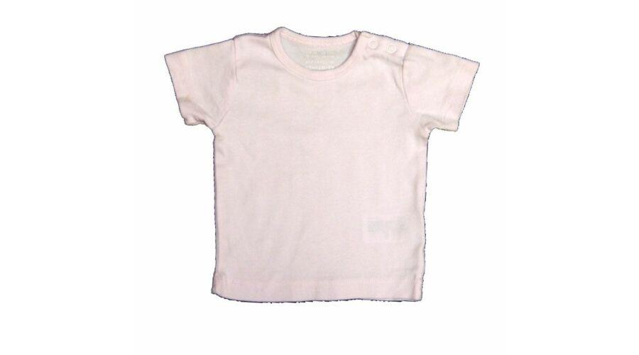 Rózsaszín póló (62) - 56-62 (0-3 hónap) - Minőségi angol használt és új  gyerekruhák 636276e907