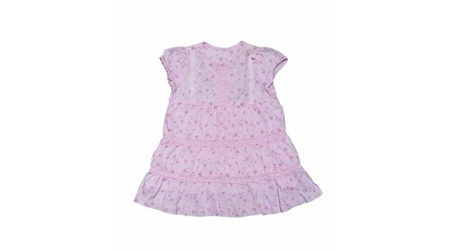 Rózsaszín rózsás ruha (68) - 68-74 (3-9 hónap) - Minőségi angol ... ed793f5808