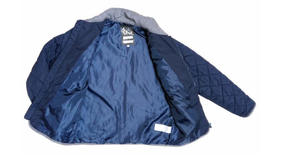 Kék-szürke steppelt átmeneti kabát (152) - 140 és nagyobb (9 év és ... dccbbd95b4