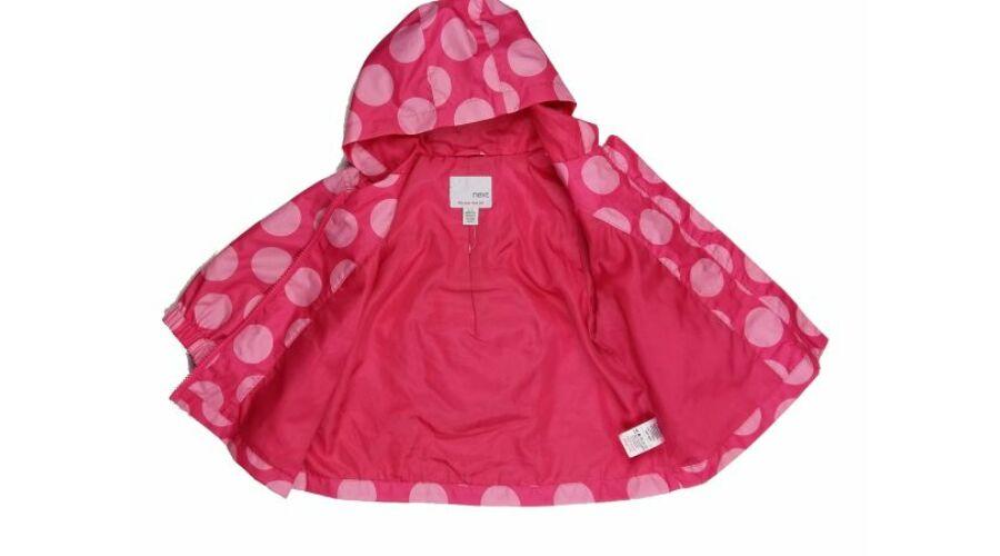 Pink pöttyös átmeneti kabát (74) - 68-74 (3-9 hónap) - Minőségi ... 1ae9032335