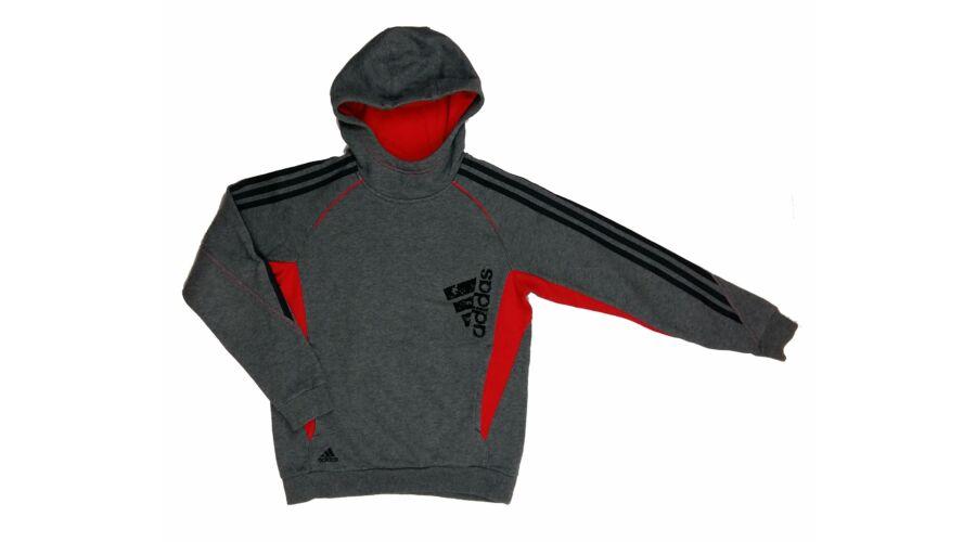 8094a85276b3 Szürke-piros Adidas pulcsi (152) - 140 és nagyobb (9 év és nagyobb ...