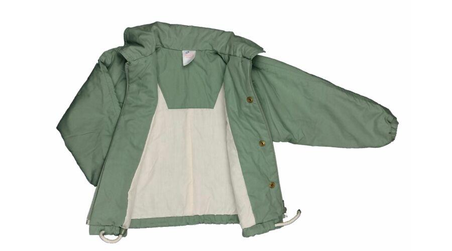 c2095a643d Zöld virágos átmeneti kabát (98) - 92-98 (1,5-3 év) - Minőségi angol ...