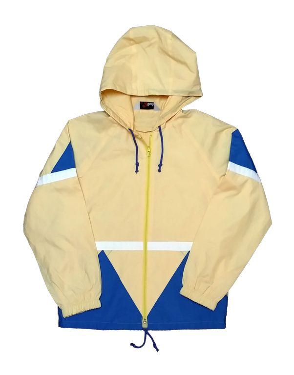 183bb68615 Sárga-kék átmeneti kabát (152) - 140 és nagyobb (9 év és nagyobb) -  Minőségi angol használt és új gyerekruhák