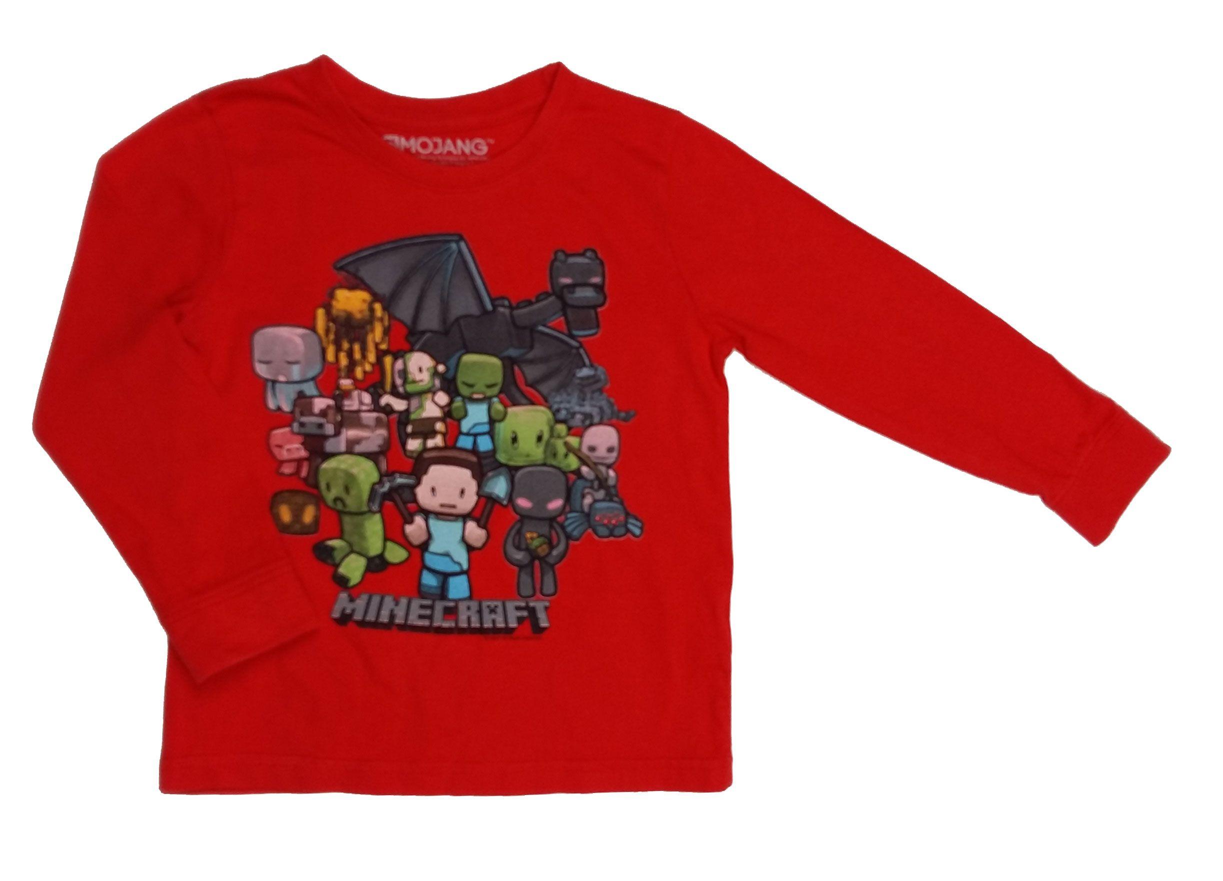Piros Minecraft póló (116) - 116-122 (5-7 év) - Minőségi angol használt és  új gyerekruhák 8c8688e077