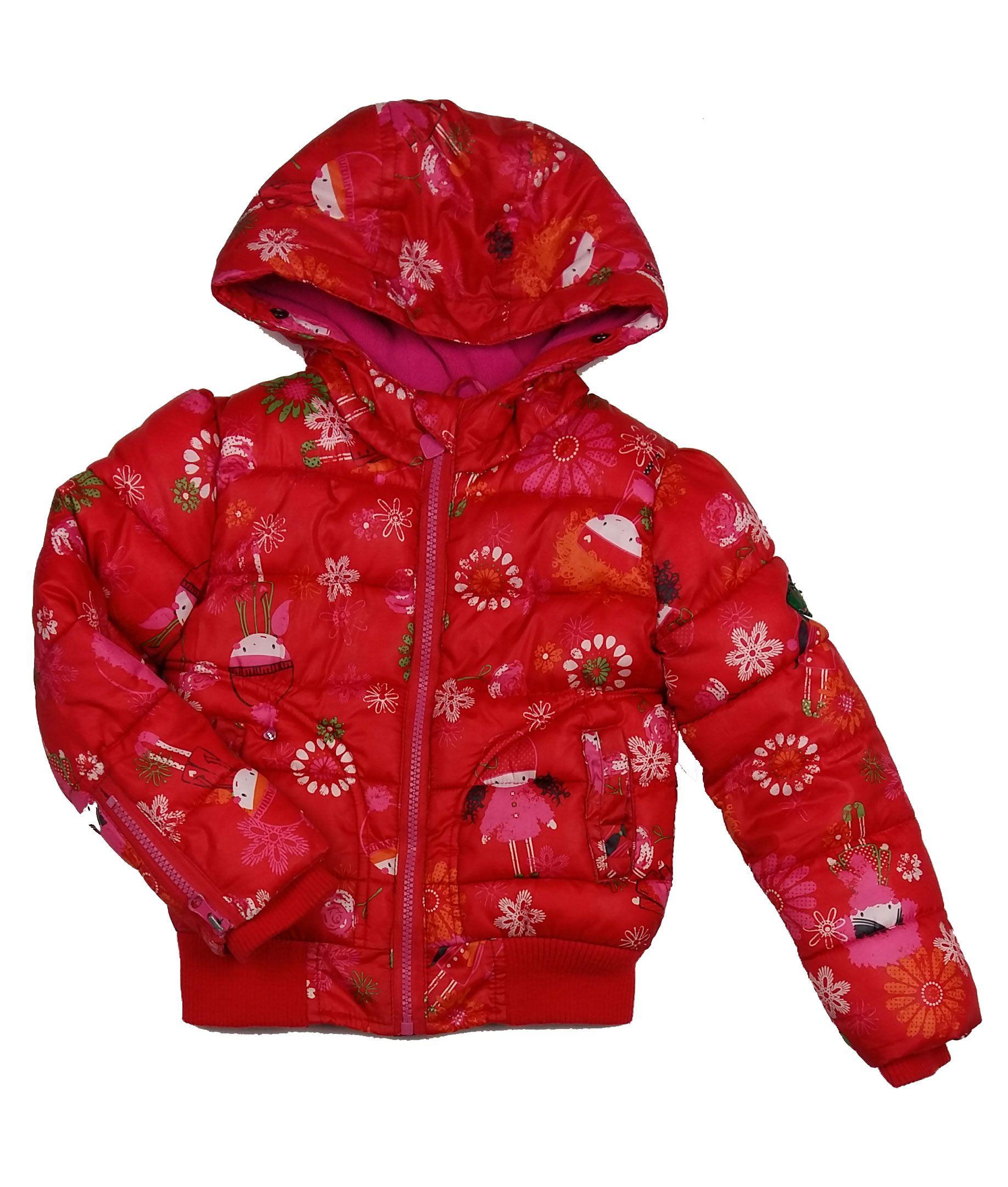 6b99bb5f37 Piros kislányos dzseki (110) - 104-110 (3-5 év) - Minőségi angol használt  és új gyerekruhák